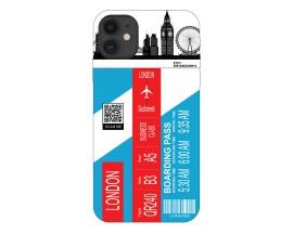 Husa Silicon Soft Upzz Print Travel Compatibila cu Iphone 11 Model London