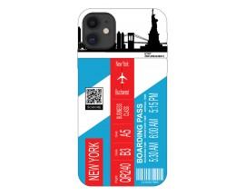 Husa Silicon Soft Upzz Print Travel Compatibila cu Iphone 11 Model New York
