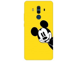 Husa Silicon Soft Upzz Print Compatibila Cu Huawei Mate 10 Pro Model Cartoon