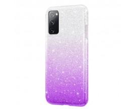 Husa Spate Upzz Shiny Compatibila Cu Samsung Galaxy A02s, Mov