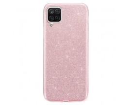 Husa Spate Upzz Shiny Compatibila Cu Samsung Galaxy A12, Roz
