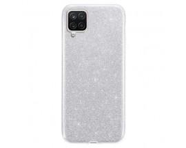 Husa Spate Upzz Shiny Compatibila Cu Samsung Galaxy A12, Silver