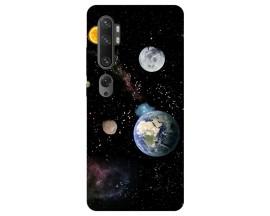 Husa Silicon Soft Upzz Print Compatibila Cu Xiaomi Mi Note 10/ Mi Note 10 Pro Model Earth