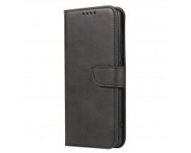 Husa Premium Upzz Magnetic Book Compatibila Cu Samsung Galaxy A51, Piele Ecologica - Negru