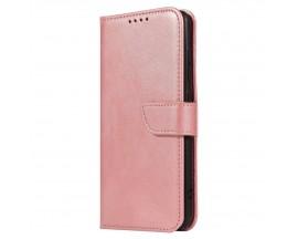 Husa Premium Upzz Magnetic Book Compatibila Cu Samsung Galaxy A51, Piele Ecologica - Roz