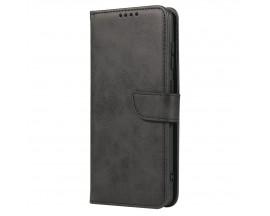Husa Premium Upzz Magnetic Book Compatibila Cu Samsung Galaxy A71, Piele Ecologica - Negru