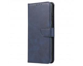 Husa Premium Upzz Magnetic Book Compatibila Cu Samsung Galaxy A71, Piele Ecologica - Albastru