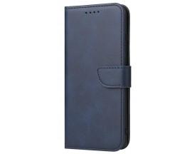 Husa Premium Upzz Magnetic Book Compatibila Cu Huawei P30 Pro, Piele Ecologica - Albastru
