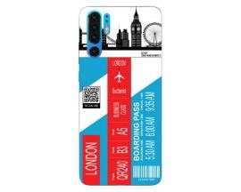 Husa Silicon Soft Upzz Print Travel Compatibila cu Huawei P30 Pro Model London