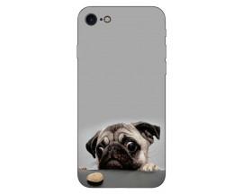 Husa Silicon Soft Upzz Print Compatibila Cu Iphone 7/ Iphone 8 Model Dog