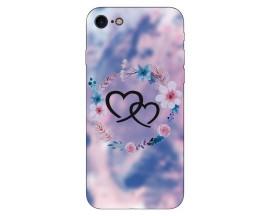 Husa Silicon Soft Upzz Print Compatibila Cu Iphone 7/ Iphone 8 Model Love