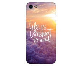 Husa Silicon Soft Upzz Print Compatibila Cu Iphone 7/ Iphone 8 Model Life