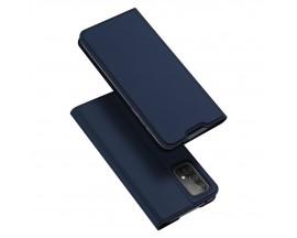 Husa Premium Flip Cover DuxDucis Skin Pro Compatibila Cu Samsung Galaxy A52 / A52 5G, Albastru Navy