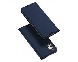 Husa Premium Flip Cover Duxducis Skin Pro Compatibila Cu Samsung Galaxy A32 5g, Albastru Navy