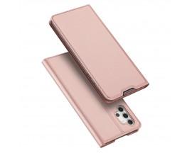 Husa Premium Flip Cover Duxducis Skin Pro Compatibila Cu Samsung Galaxy A32 5g, Roz
