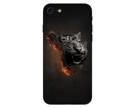 Husa Silicon Soft Upzz Print Compatibila Cu Iphone 7/ Iphone 8 Model Tiger