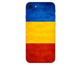 Husa Silicon Soft Upzz Print Compatibila Cu Iphone 7/ Iphone 8 Model Tricolor