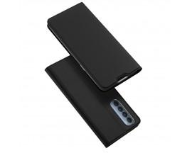 Husa Premium Flip Cover DuxDucis Skin Pro Compatibila Cu Oppo Reno 4 Pro 5G, Negru