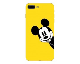 Husa Silicon Soft Upzz Print Compatibila Cu Iphone 7 Plus/ Iphone 8 Plus Model Cartoon