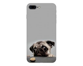 Husa Silicon Soft Upzz Print Compatibila Cu Iphone 7 Plus/ Iphone 8 Plus Model Dog