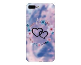 Husa Silicon Soft Upzz Print Compatibila Cu Iphone 7 Plus/ Iphone 8 Plus Model Love