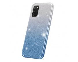 Husa Spate Upzz Shiny Compatibila Cu Samsung Galaxy A02s, Albastru