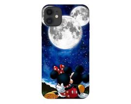 Husa Silicon Soft Upzz Print Compatibila Cu iPhone 11 Model Moon
