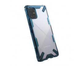 Husa Premium Ringke Fusion  Samsung Galaxy M31s,  Albastru