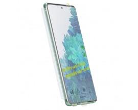 Folie Premium Full Cover Ringke Dual Easy Samsung Galaxy M31s, Transparenta -2 Bucati In Pachet