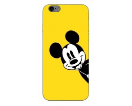 Husa Silicon Soft Upzz Print Compatibila Cu iPhone 6 Plus/ iPhone 6s Plus Model Cartoon