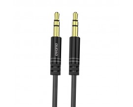 Cablu Audio Aux Jack La Jack 3.5mm Dudao Spring 170cm  Lungime Negru