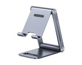 Suport Universal Premium Aluminiu Ugreen Pentru Telefoane Si Tablete, Gri - LP263