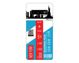 Husa Silicon Soft Upzz Print Travel Compatibila cu Samsung Galaxy S10 Model New York