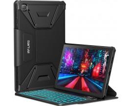 Husa Tableta Infiland Cu Tastatura Bluetooth Pentru Samsung Galaxy Tab A7 10.4inch T500 / T505, Negru