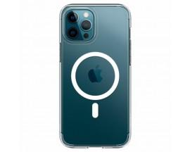 Husa Mercury Goospery MagSafe Compatibila Cu iPhone 12 Pro Max, Transparenta
