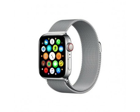 Curea Goospery Milanese Loop Compatibila Cu Apple Watch 4 / 5 / 6/ SE 40MM, Metalic Silver