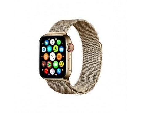 Curea Goospery Milanese Loop Compatibila Cu Apple Watch 4 / 5 / 6/ SE 40MM, Metalic Gold