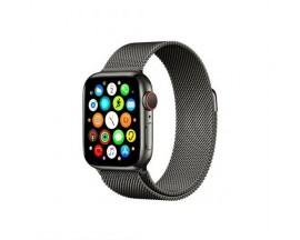 Curea Goospery Milanese Loop Compatibila Cu Apple Watch 4 / 5 / 6/ SE 44MM, Negru Metalic