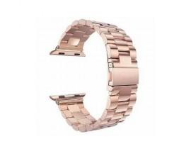 Curea Goospery Metalic Band  Compatibila Cu Apple Watch 4 / 5 / 6/ SE 40MM, Roz Gold