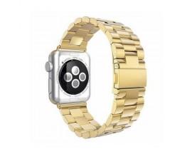 Curea Goospery Metalic Band  Compatibila Cu Apple Watch 4 / 5 / 6/ SE 44MM, Gold
