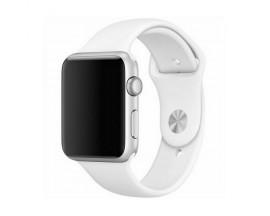 Curea Goospery Silicone Band Compatibila Cu Apple Watch 4 / 5 / 6/ SE 44MM, Silicon, Alb