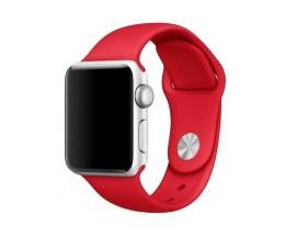 Curea Goospery Silicone Band Compatibila Cu Apple Watch 4 / 5 / 6/ SE 44MM, Silicon, Rosu