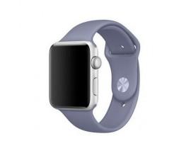 Curea Goospery Silicone Band Compatibila Cu Apple Watch 4 / 5 / 6/ SE 44MM, Silicon, Lanvader Gri