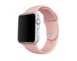 Curea Goospery Silicone Band Compatibila Cu Apple Watch 4 / 5 / 6/ SE 44MM, Silicon, Roz
