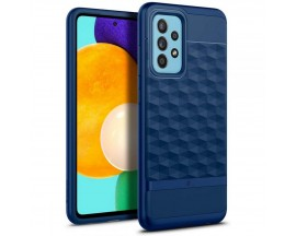 Husa Premium Caseology By Spigen Parallax Compatibila Cu Samsung Galaxy A52 / A52 5G, Albastru