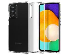 Husa Premium Spigen Liquid Crystal Pentru Samsung Galaxy A52 / A52 5G, Silicon, Transparent