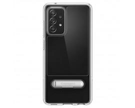 Husa Premium Spigen Slim Armor Essential S Compatibila Cu Samsung Galaxy A52 / A52 5G, Transparenta