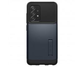 Husa Premium Spigen Slim Armor Compatibila Cu Samsung Galaxy A52 / A52 5G, Metal Slate