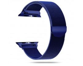 Curea Apple Watch, Tech Protect Milanese Loop, Compatibila Cu Apple Watch 4/5/6/SE (42/44mm), Navy Blue