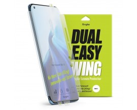 Folie Silicon Premium Ringke Dual Easy  Pentru Xiaomi Mi 11, 2 Bucati In Pachet, Transparenta, Silicon